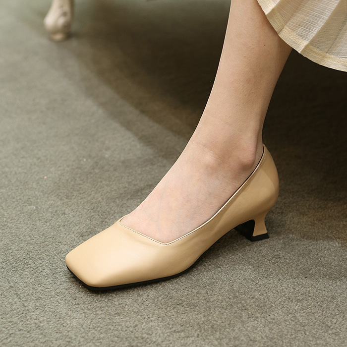 21A8103 beige pumps
